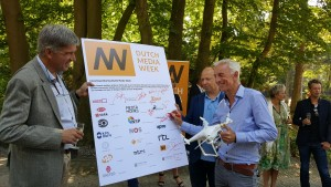 Opening Dutch Media Week waarvan de Open Studio Dagen deel uit maakten