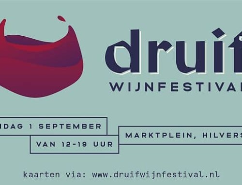 Druif Wijnfestival zondag 1 september op het Marktplein Hilversum