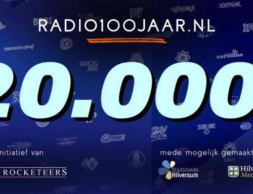 Meer dan 20.000 volgers bij Radio 100 jaar