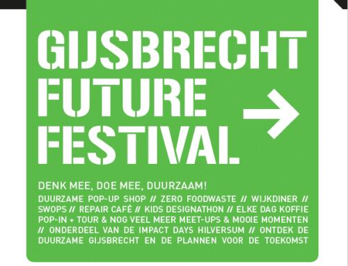 Future Festival op De Gijsbrecht 19 – 23 november 2019