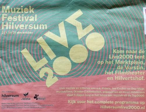 Live2000 trekt bezoekers Top2000 naar het centrum van Hilversum